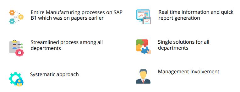 SAP Implementation Highlights